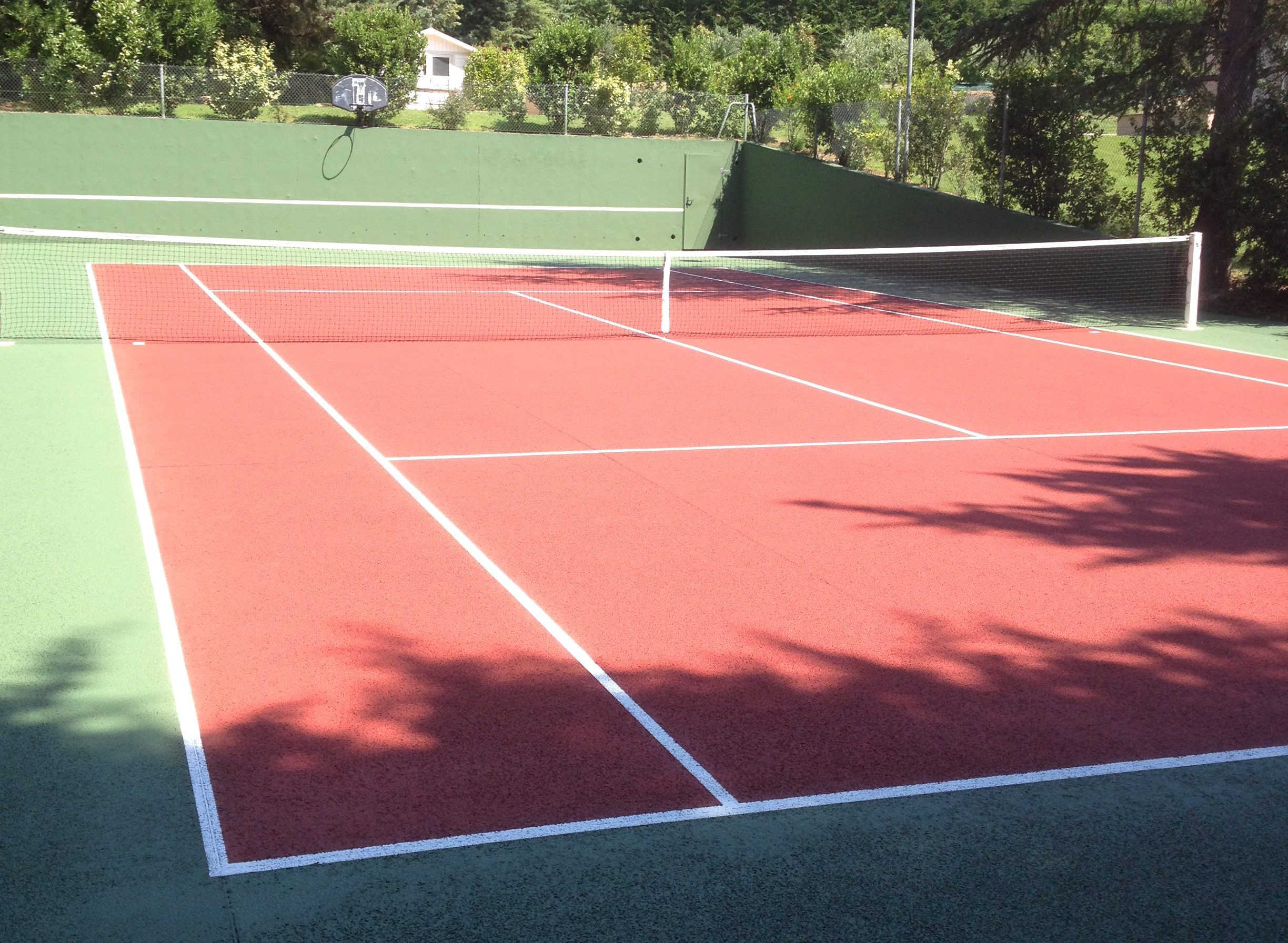 renovation alveolar concrete tennis courtrenovation alveolar concrete tennis court tennis du midi. Black Bedroom Furniture Sets. Home Design Ideas